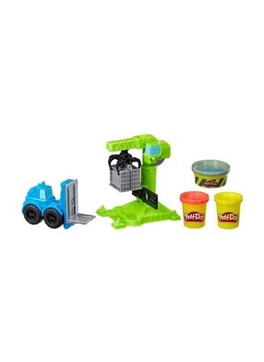Play-Doh Play-Doh Çalışkan Vinç Ve Forklift Renkli